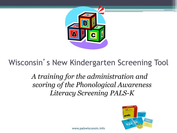 wisconsin s new kindergarten screening tool n.