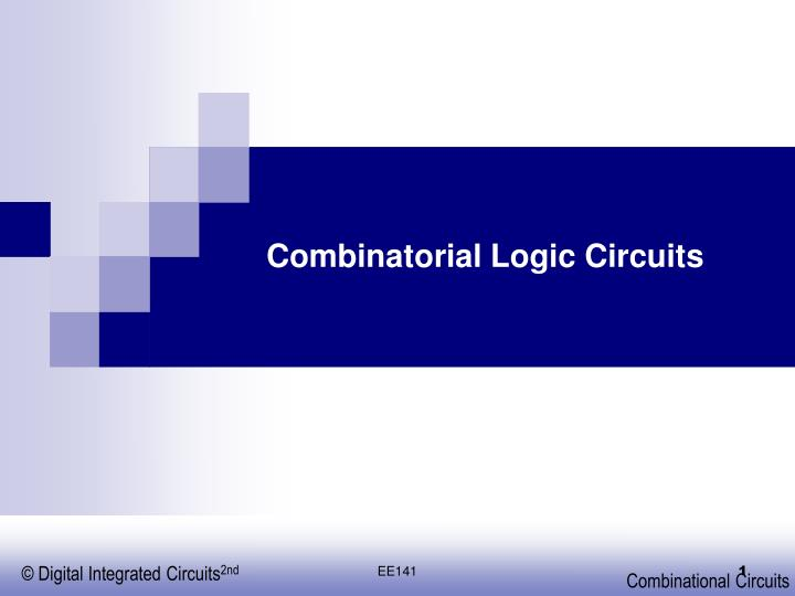 combinatorial logic circuits n.