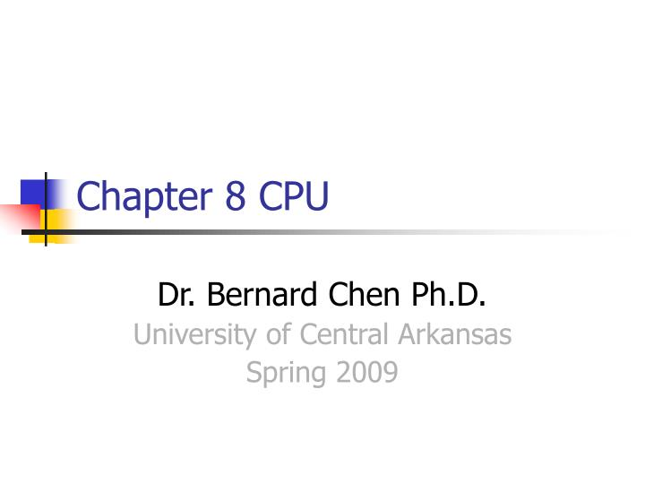 chapter 8 cpu n.