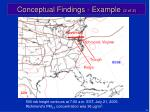conceptual findings example 2 of 2