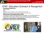 cfat education outreach recognition