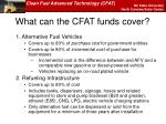 what can the cfat funds cover