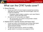 what can the cfat funds cover1