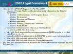 idee legal framework1