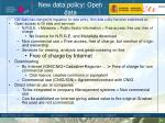 new data policy open data1