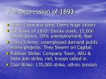 the depression of 1893
