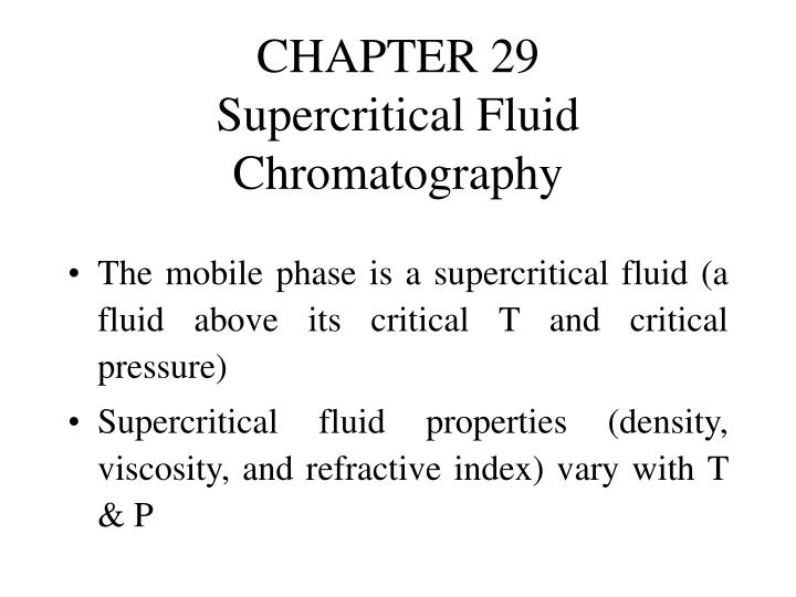 chapter 29 supercritical fluid chromatography n.