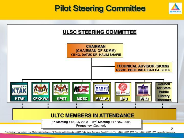 Pilot Steering Committee