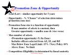 promotion zone opportunity