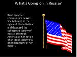 what s going on in russia1