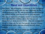 rand and objectivism1