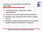 creating a sustainable competitive advantage3