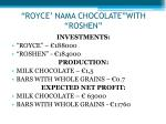 royce nama chocolate with roshen