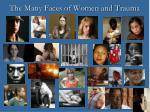 the many faces of women and trauma