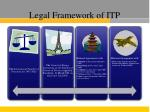 legal framework of itp