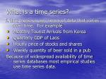 what is a time series