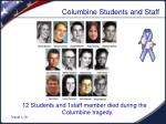 columbine students and staff