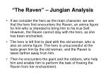 the raven jungian analysis
