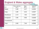 england wales aggregate