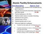 atomic facility enhancements1