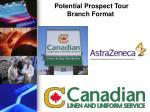potential prospect tour branch format