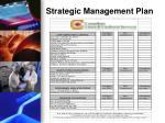 strategic management plan