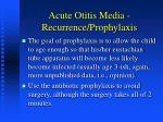 acute otitis media recurrence prophylaxis2
