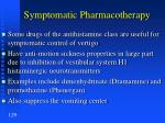 symptomatic pharmacotherapy2