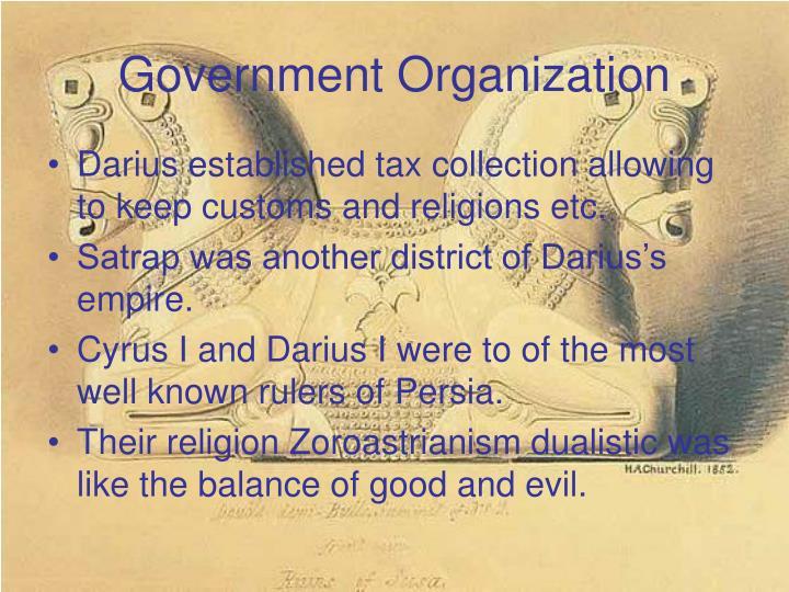 Government organization