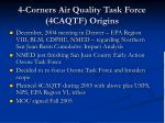 4 corners air quality task force 4caqtf origins