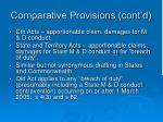 comparative provisions cont d1
