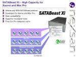 satabeast xi high capacity for xserve and mac pro