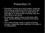 prevention 1