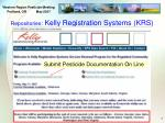 repositories kelly registration systems krs