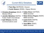 current bcu detailees