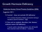 growth hormone deficiency1