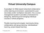 virtual university campus
