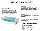 what is a wave
