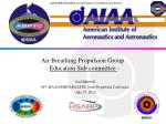 air breathing propulsion group education sub committee