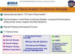 centennial of naval aviation conference structure