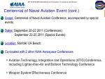 centennial of naval aviation event cont