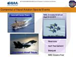 centennial of naval aviation special events