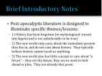brief introductory notes1