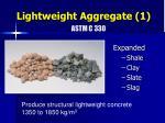 lightweight aggregate 1