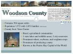 w oodson county