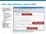 cisco agent desktop agent e mail
