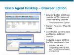 cisco agent desktop browser edition