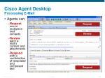 cisco agent desktop processing e mail