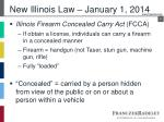 new illinois law january 1 2014