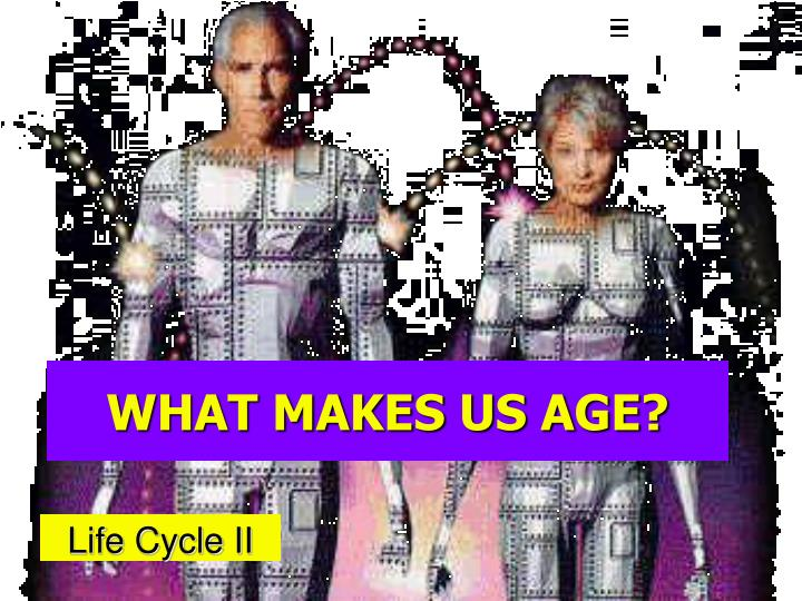 what makes us age n.